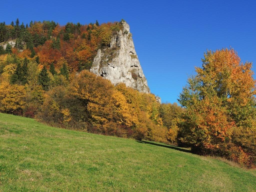 Vyšnokubínska Ostrá skala 19 10 2012
