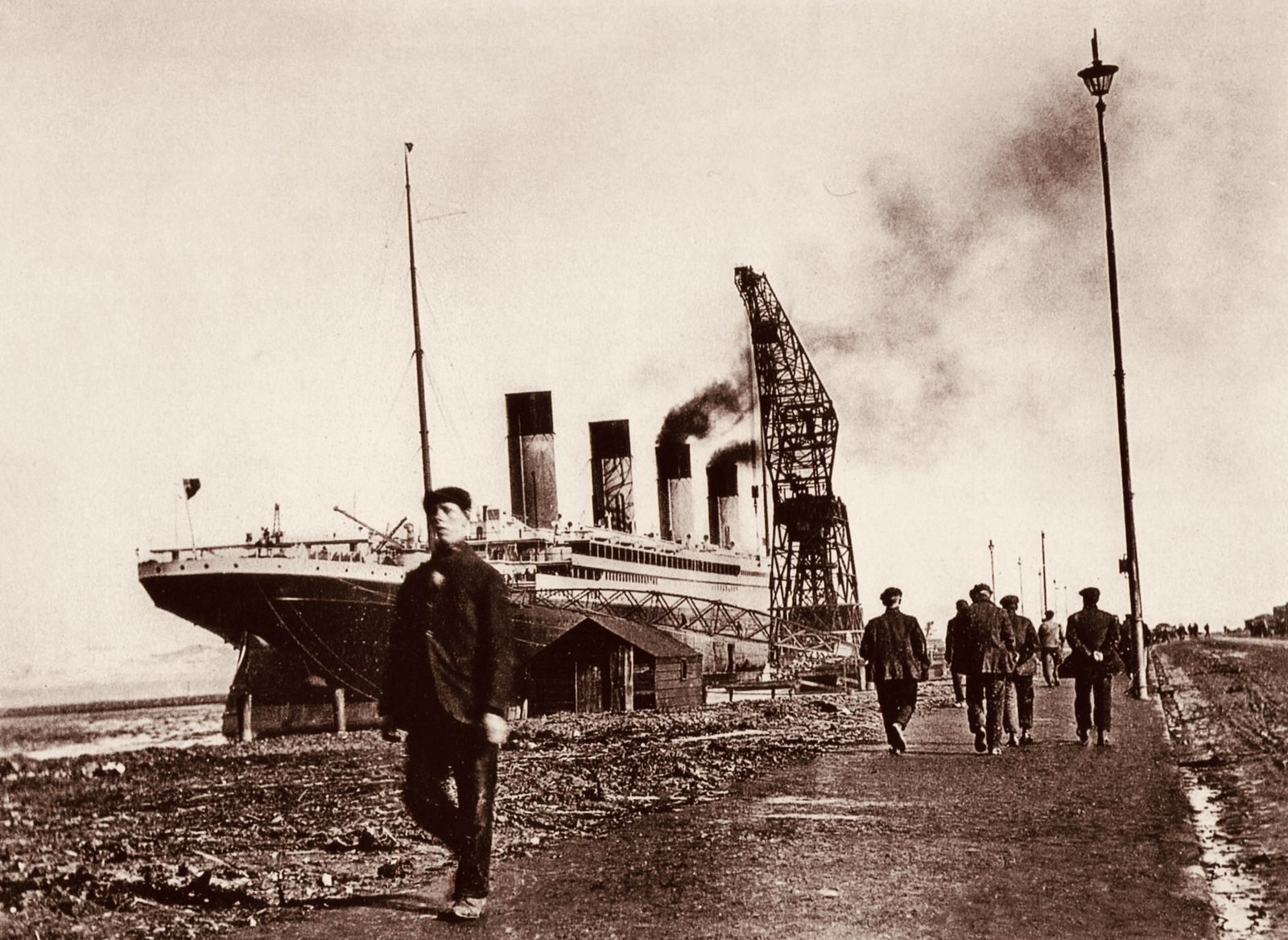Titanic taken by John Kempster, April 1st 1912